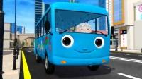 英文儿歌 Wheels On The Bus 汽车的轮子
