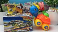 小猪佩奇与小乌龟的魔幻车神玩具 317