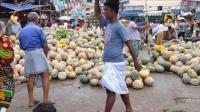 《孟加拉国.》最大的蔬菜批发市场