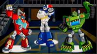 恐龙玩具机器人大战 恐龙战队4  侏罗纪世界 恐龙世界 恐龙游戏 恐龙总动员