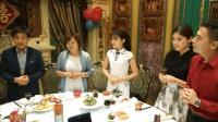 韩国女孩嫁到中国, 全家来中国参加婚宴, 父亲感到无上的荣耀