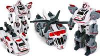 超级救援 机器车辆白色希望支援救援直升机合金车转型变形金刚合体玩具大全§垣垣玩具