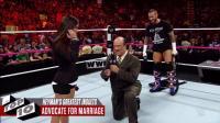 WWE十大海曼经典嘴炮 擂台上向AJ·李求婚(中