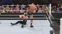 巅峰巨石强森 VS 巅峰魔蝎 WWE2K17比赛