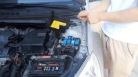 汽车路上行驶发动机水箱温度高不要慌, 看老司机自己检修故障
