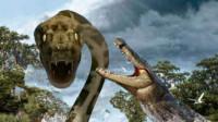 《巨蟒大战恐鳄》恐怖巨蟒与短吻鳄暴发世纪之战