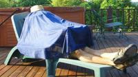 黑科技帐篷, 不花一分钱降温比空调快, 能省下多少电费啊!