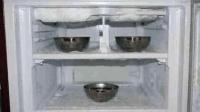 家里冰箱用久了制冷差, 容易结霜, 在里面放上它, 能让冰霜溶解