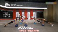韩国美女为了性感的比基尼身材,疯狂做运动