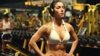 欧美美女健身视频