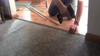 老房子换铺木地板全过程, 工人手艺好棒