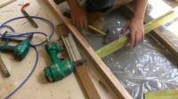 家居: 看木工师傅如何架高木地板, 这手艺, 绝对不少500一天?