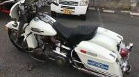 二手市场买的本田摩托车, 样式特别好看就是不敢上路, 害怕被打