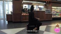 太懒不想走怎么办? 载人行李箱分分钟载你到登机口