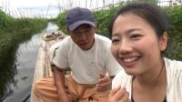 美女搭讪缅甸帅哥, 他一个反问, 令美女尴尬的不知如何回答!