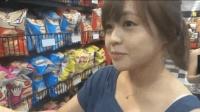 韩国年轻人组团游中国, 在超市向大妈请教学汉语