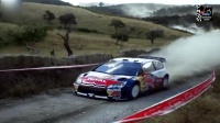 WRC赛车赛道疯狂飙车劈弯, 开超跑在这样的路上跑才是真会玩, 撩起漫天尘土!