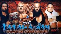 WWE2017夏日狂潮罗曼·大布·黑羊·乔