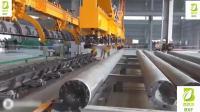 直击水泥电线杆的出产流水线, 本来电线杆就是这样出产的