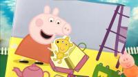 小猪佩奇玩粉红猪小妹贴纸书 42