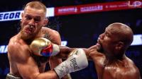 UFC嘴炮惨遭梅威瑟KO 被打到意识模糊无力还击