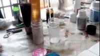 无限极防晒霜产品示范