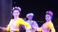 实拍西双版纳的民族表演, 傣族少女的服装和舞蹈真好看