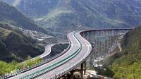 """中国""""逆天工程"""", 挂在天上的公路, 多个第一让外国人懵呆"""