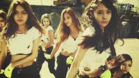 车载旅行必备, 韩国美女组合, 户外热舞, 看的人激情澎湃