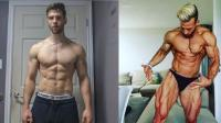 自然健美和药物健美的区别是什么? 两张对比图告诉你真相!