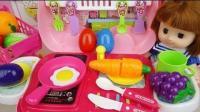 0086 - 宝贝Doli和厨房汽车惊喜鸡蛋食品玩具娃娃玩