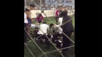 足坛悲剧! 前甲A上海中远俱乐部总经理王国林踢球猝死, 现场抢救无效