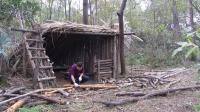 丛林小木屋打造家具, 妹子都想住进去!