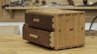 这才叫大师, 学习中国传统的制造技术, 整套木柜不用一颗钉子
