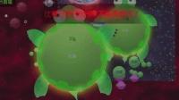 球球大作战疯子大逃杀: 队友是一只600多盾的大乌龟!