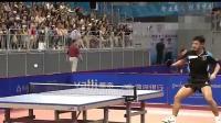 张继科全运会对战浙江14岁运动员向鹏, 纠缠5局之后获胜