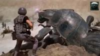 人类大军进攻虫族部落, 非常好看刺激的一部电影!