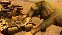【小猪解说】野兽模拟器丨对付恐龙最好的办法还是用现代机械!