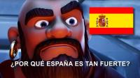 ★皇室战争★万万没想到! 全世界皇室战争最厉害的国家居然是西班牙? #G977★酷爱娱乐解