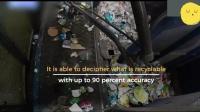 国外神奇的垃圾回收机器人, 把可利用的东西捡出来, 像一个熟练的工人