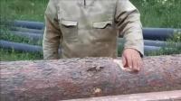 牛人 加工木材用自制工具 给力 !