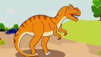 宝宝恐龙世界 恐龙公园 第一期 霸王龙 简介认知 喂食洗澡 霸王龙跨栏 陌上千雨
