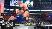 WWE十大铁台阶残暴瞬间 毒蛇兰迪RKO克里斯坦 王中王名门攻击大布