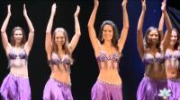 红紫两色美女斗舞, 你觉得哪色更漂亮