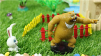 【胡萝卜不见了 下】熊出没狗狗巡逻队小猪佩奇粉红猪小妹托马斯小火车亲子故事