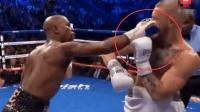 嘴炮在梅威瑟的拳击规则下, 也只有挨打的份, 换个UFC规则试试