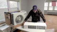 德国工人安装空调, 有人比他们更专业吗?