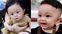 才4个月大的宝宝, 表情就这么夸张, 长大了一定是个影帝