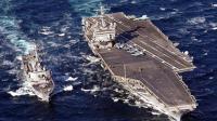美国航母刚刚闯入中国南海 解放军就发射导弹 一发直接送回老家
