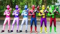 蜘蛛侠 与 权力护林员 Spiderman vs Power Rangers